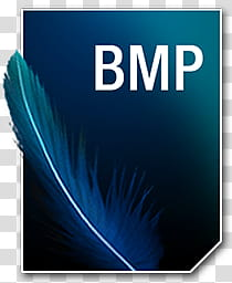 Bmp jpg clipart tif transparent stock Adobe Neue Icons, BMP__, blue feather with BMP text overlay ... transparent stock