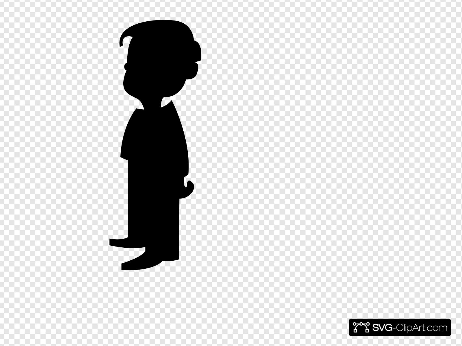 Bo sillohette clipart clip art transparent stock Boy Silhouette Clip art, Icon and SVG - SVG Clipart clip art transparent stock