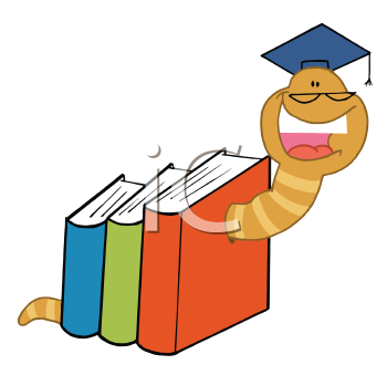 Board books clipart clip art free download iCLIPART - Royalty Free Clipart Image of a Worm in Books | Classroom ... clip art free download