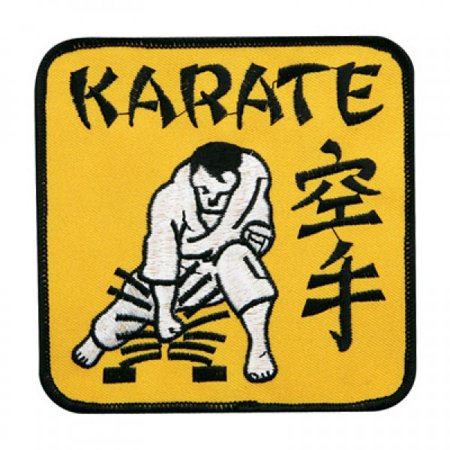 Board breaking clipart graphic download Karate Breaking Board Martial Arts Patch, 4\