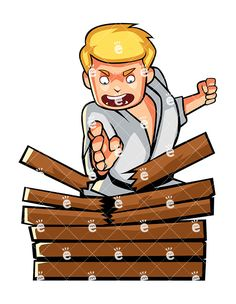 Board breaking clipart graphic royalty free 51 Best Martial Arts Clipart images in 2019 | Art clipart, Combat ... graphic royalty free
