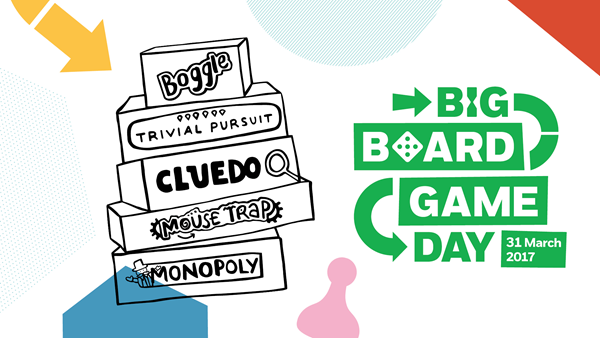 Board game day clipart png library download Big Board Game Day 2017   NSPCC png library download