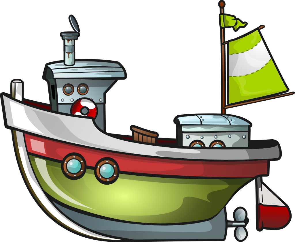 Boat clipart in piblic domain png free download Free Green Boat Clip Art | Winter Holiday decor! | Free clipart ... png free download