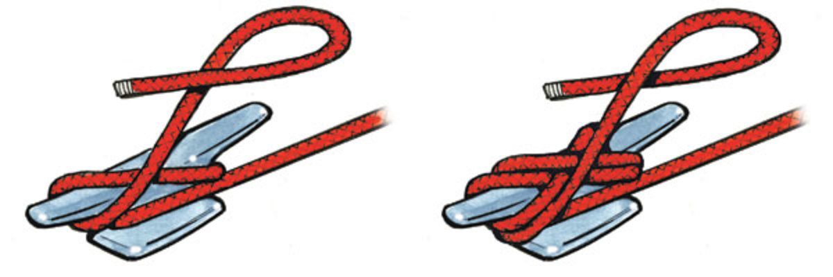 Boat dock cleat clipart png library stock Seven Essential Knots for Sailors - Sail Magazine png library stock