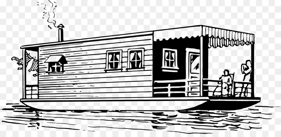 Boat house clipart clip art transparent download Book Black And White png download - 2380*1138 - Free Transparent ... clip art transparent download