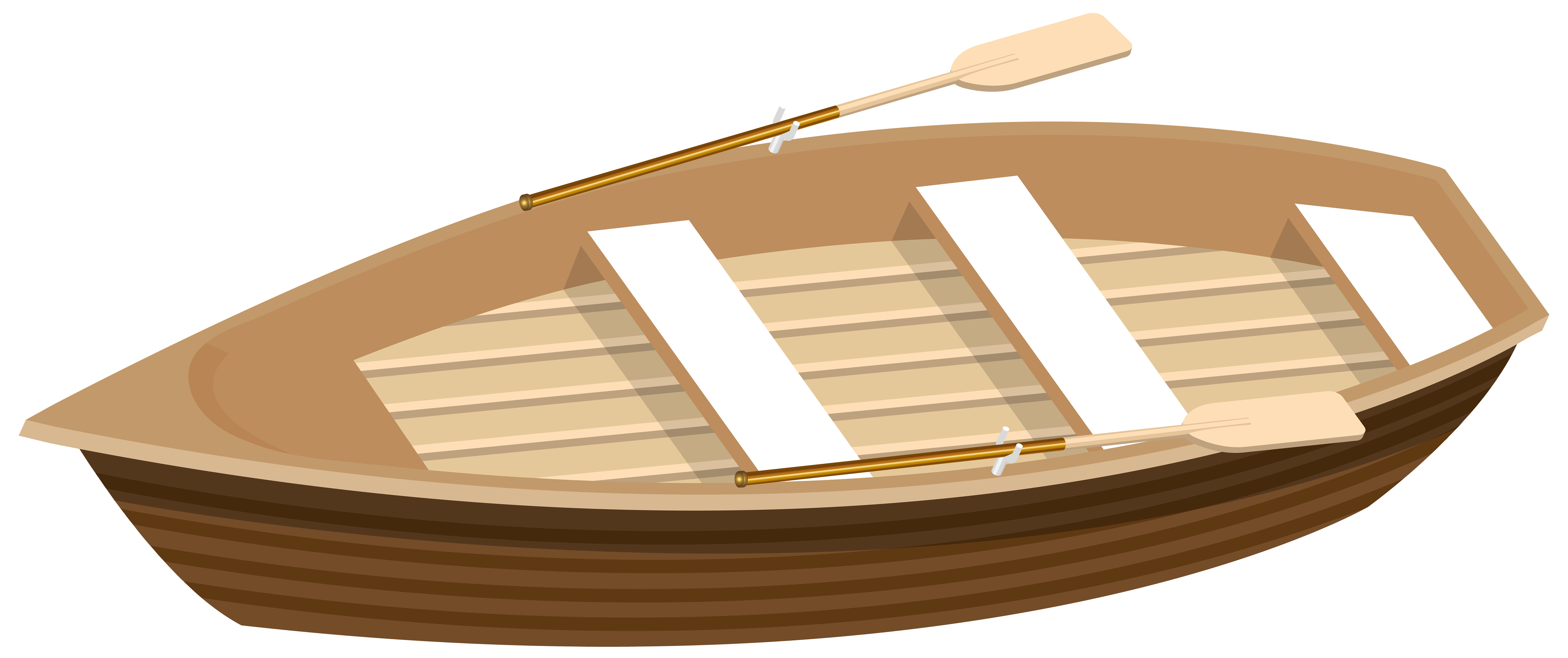 Boat png clipart vector free download Wooden Boat Transparent PNG Clip Art Image | Gallery Yopriceville ... vector free download