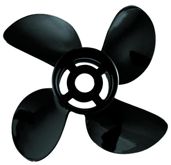 Boat propeller clipart clip art royalty free stock Prop Hustler 4 Blades ALU 14\