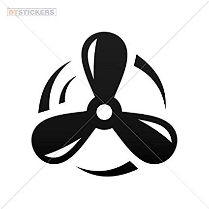 Boat propeller clipart image freeuse library Amazon.com: Sticker Ship Propeller durable Boat (6 X 5,95 In ... image freeuse library