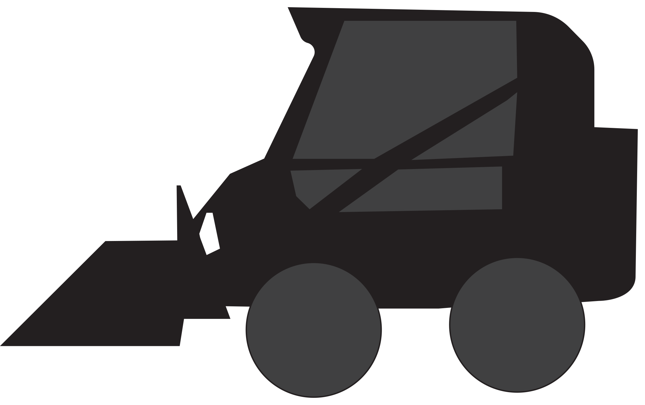 Grading Skid Steer Clip Art - Clipart Library • png free library