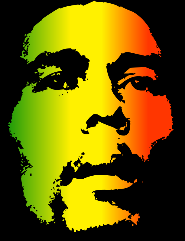 Bob marley clipart hd svg transparent Free Clipart: Bob Marley | kuba svg transparent