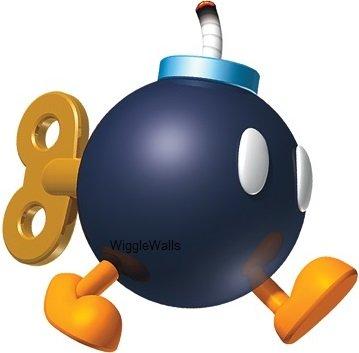 Bob omb clipart image royalty free stock Amazon.com: 3 Inch Bob-omb Walking Bomb Super Mario Bros Brothers ... image royalty free stock