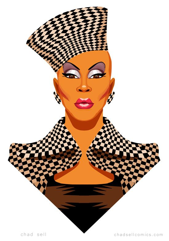 Bob the drag queen clipart png Vivacious by Chad Sell - Ru Paul\'s Drag Race S6 | Don\'t be a drag ... png