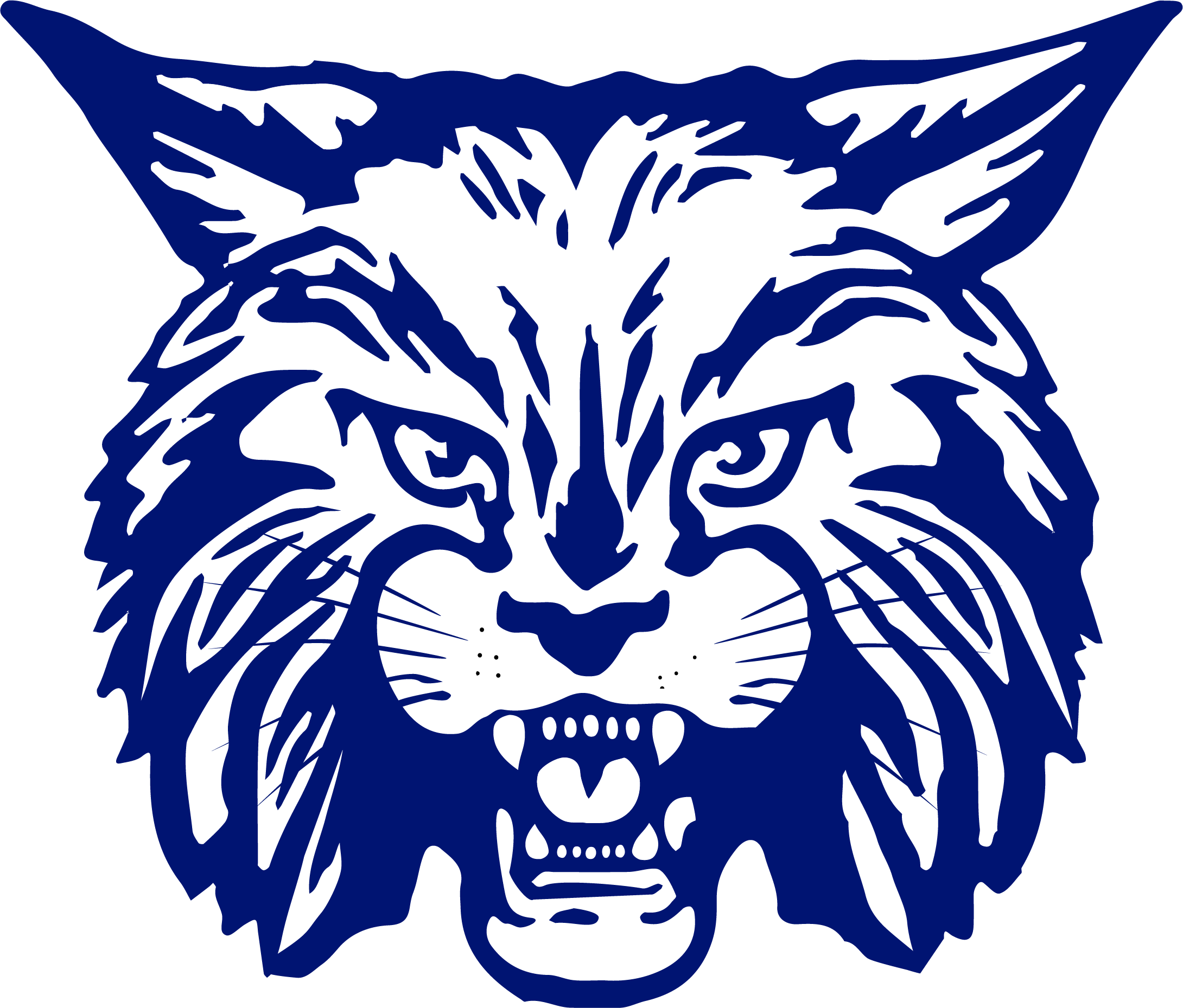 Bobcat football clipart image royalty free stock Bangor Township Schools image royalty free stock
