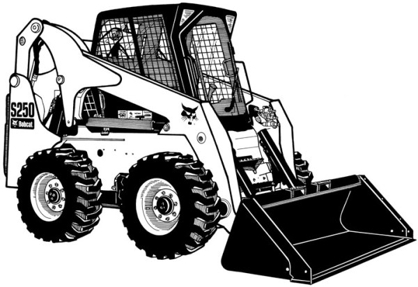 Bobcat tractor clipart clip art library download 25+ Bobcat Clip Art Landscaping Pictures and Ideas on Pro Landscape clip art library download