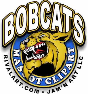Bobcat mascot clipart png freeuse download Bobcat Clipart on Rivalart.com png freeuse download