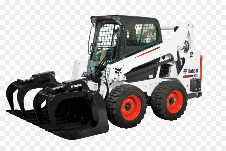 Free cat trac skid steer loader png clipart