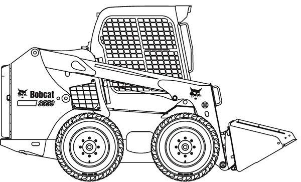 Bobcat tractor clipart clip art freeuse download Bobcat tractor clipart 2 » Clipart Portal clip art freeuse download