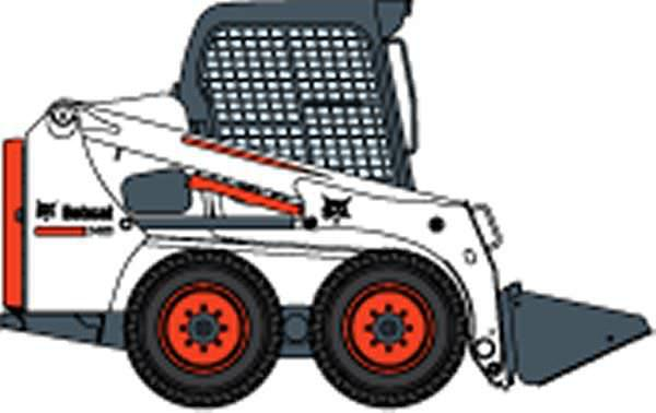 Bobcat tractor clipart jpg royalty free stock Bobcat clipart construction, Bobcat construction Transparent FREE ... jpg royalty free stock