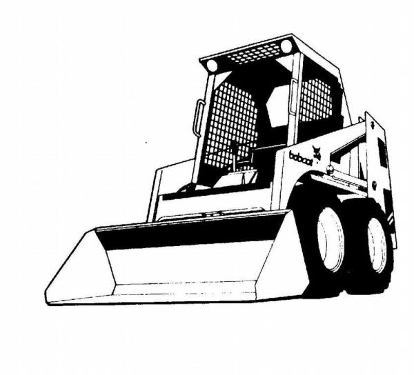 Bobcat tractor clipart clip art free stock 25+ Bobcat Clip Art Landscaping Pictures and Ideas on Pro Landscape clip art free stock