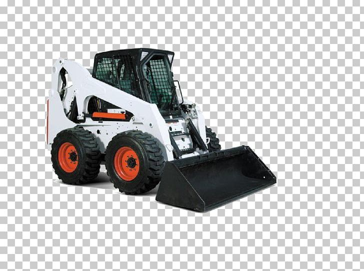 Bobcat tractor clipart svg royalty free library Skid-steer Loader Bobcat Company Tracked Loader Heavy Machinery PNG ... svg royalty free library
