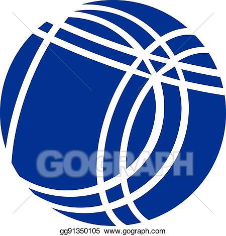 Boccee clipart graphic free Vector Stock - Bocce ball. Clipart Illustration gg91350105 - GoGraph graphic free
