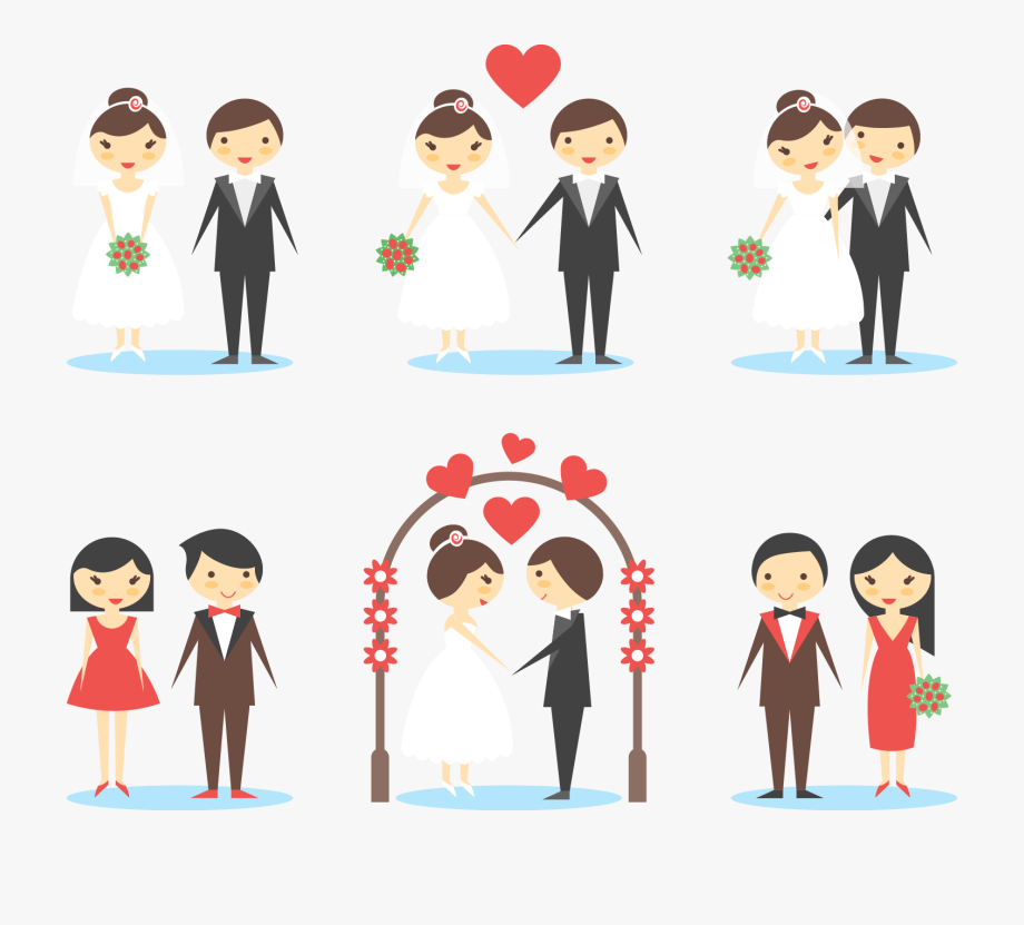 Pareja clipart clip art free library Old Clipart Marriage Couple - Pareja De Boda Png #1005194 - Free ... clip art free library