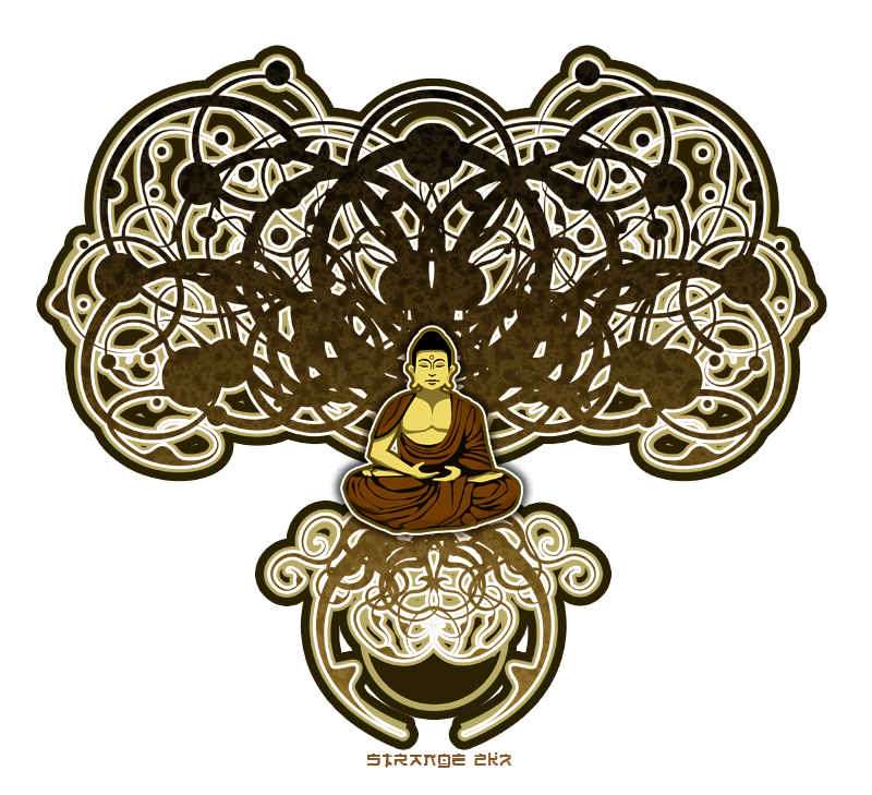 art nouveau Buddha Bodhi tree. oh i love it! | Misc. | Pinterest ... graphic stock
