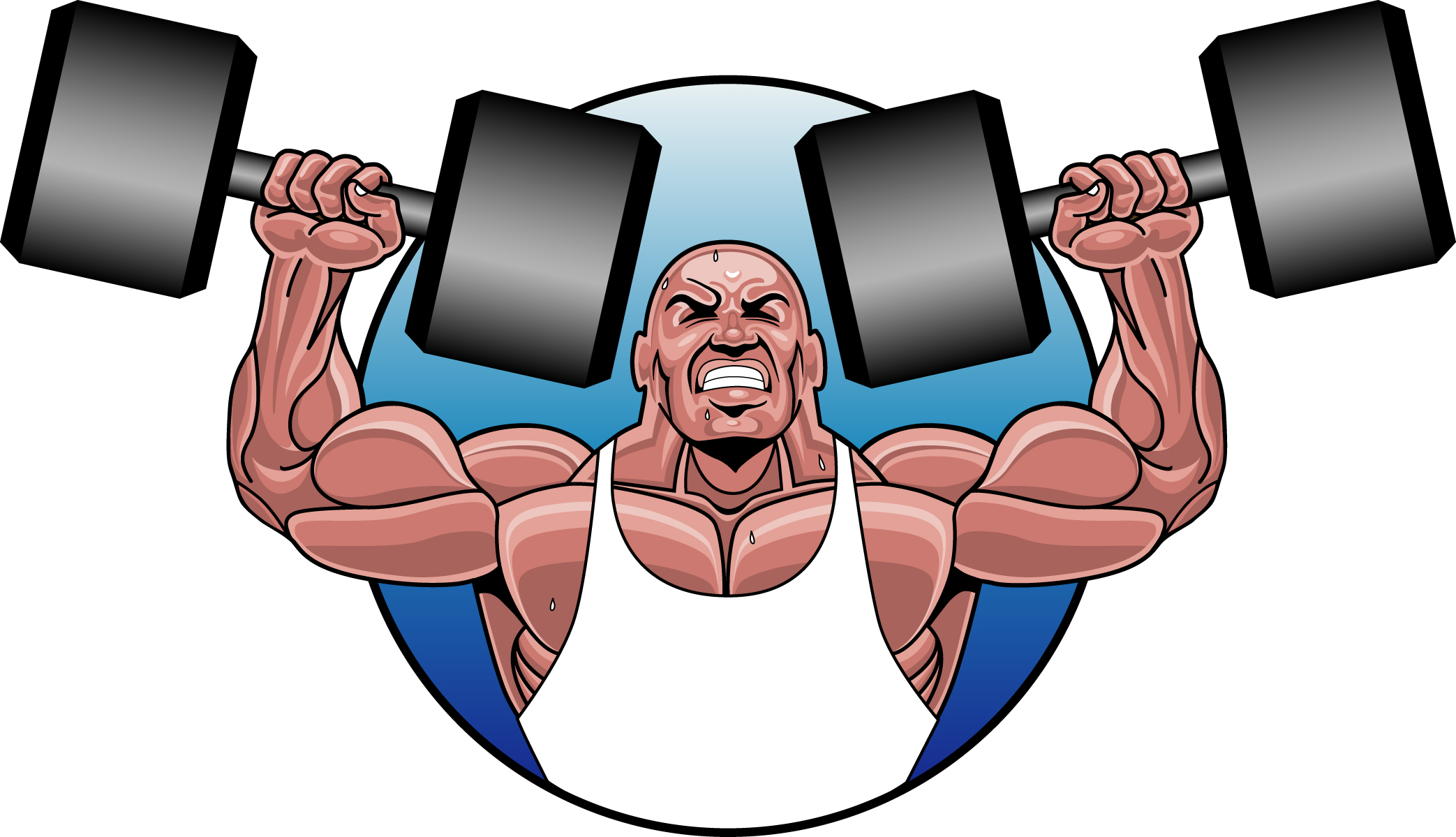 Body bilder clip art jpg transparent Body builder clipart - ClipartFest jpg transparent