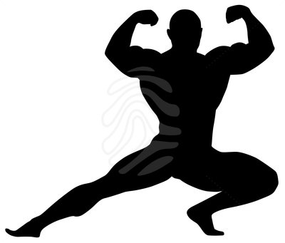 Builder clipart kid bodybuilder. Body bilder clip art