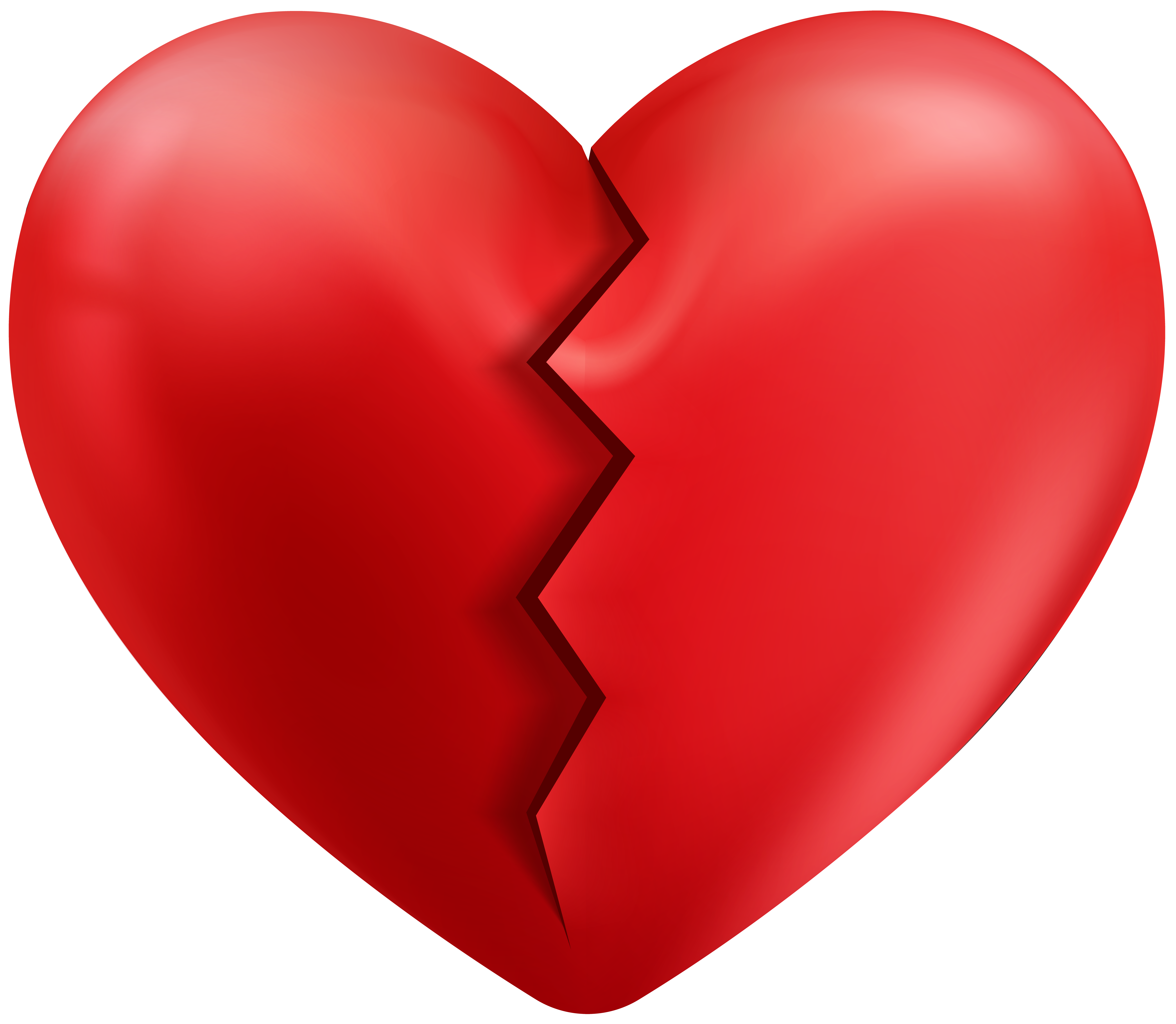 Body heart clipart transparent Cracked Heart Transparent PNG Clip Art Image | Gallery Yopriceville ... transparent