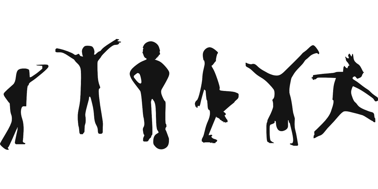Body physical activities exercise clipart black and white dance vector transparent Dance, Karate, and Basketball Are Important at the Winner School in ... vector transparent