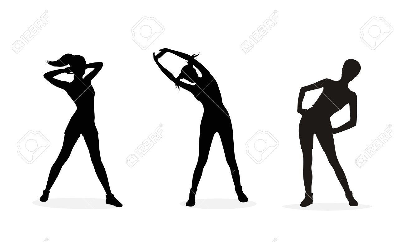 Body physical activities exercise clipart black and white dance clipart black and white stock Fitness Cliparts | Free download best Fitness Cliparts on ClipArtMag.com clipart black and white stock