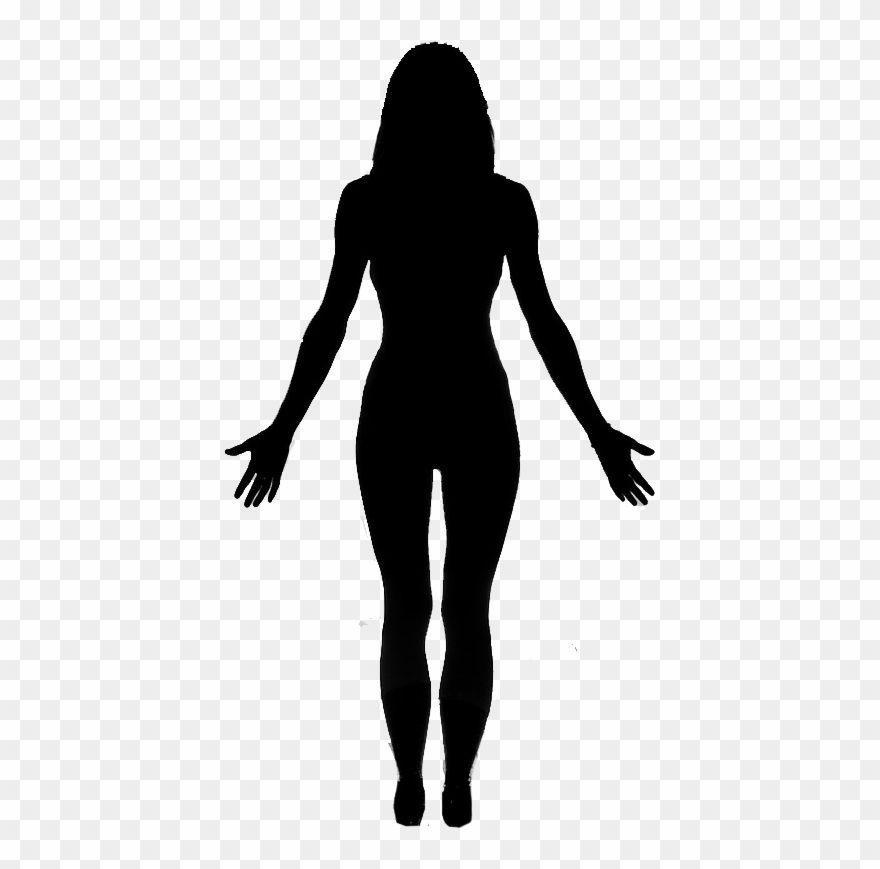 Body silhousette clipart graphic library download Body Silhouette At Getdrawings - Full Body Female Body Silhouette ... graphic library download