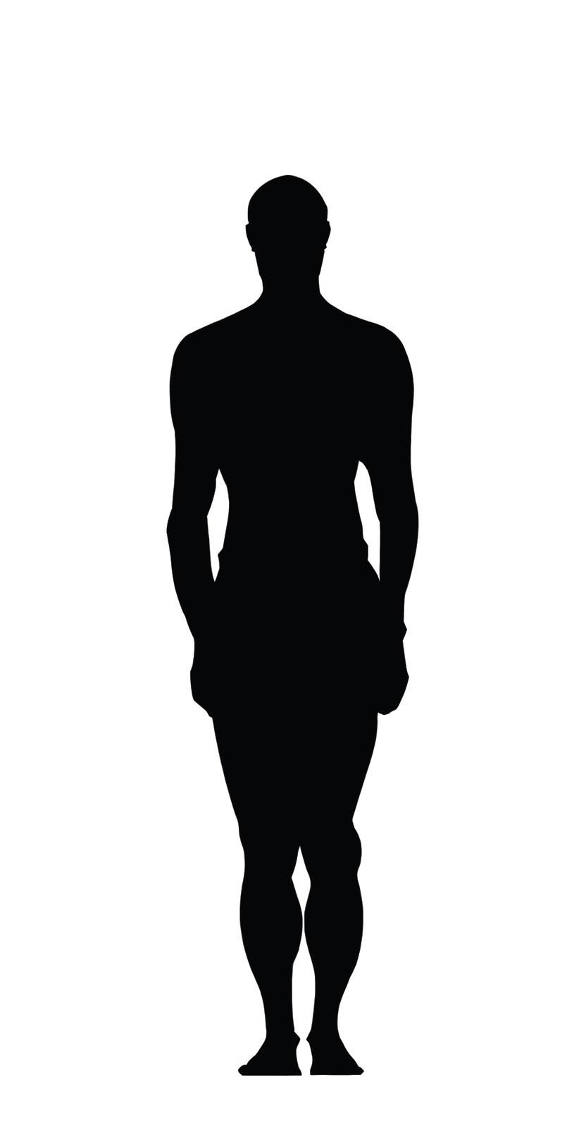 Body silhousette clipart picture transparent stock Body silhouette clipart 3 » Clipart Portal picture transparent stock