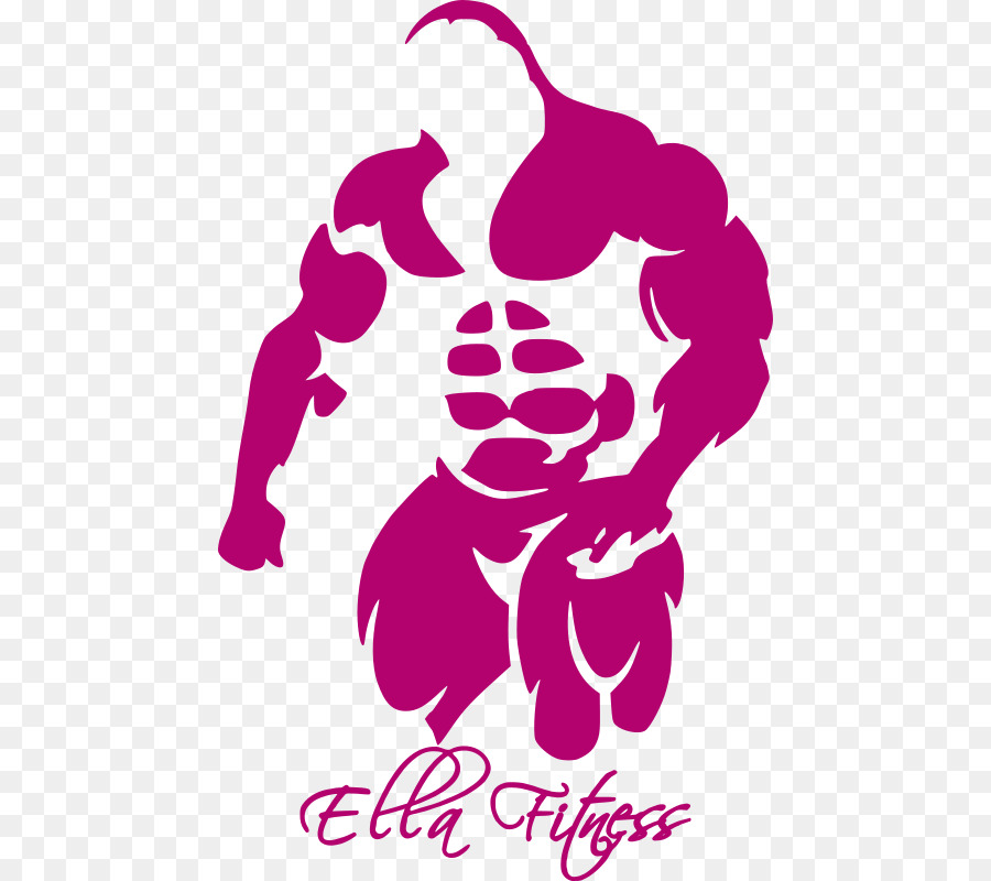 Bodybuilding logo clipart transparent Pink Flower Cartoon png download - 504*800 - Free Transparent Logo ... transparent