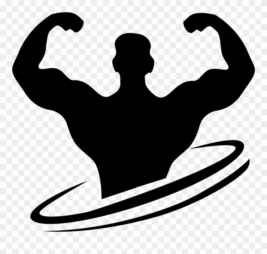 Bodybuilding logo clipart image download Bodybuilding Clipart Vector Illustration - Bodybuilding Icon Png ... image download
