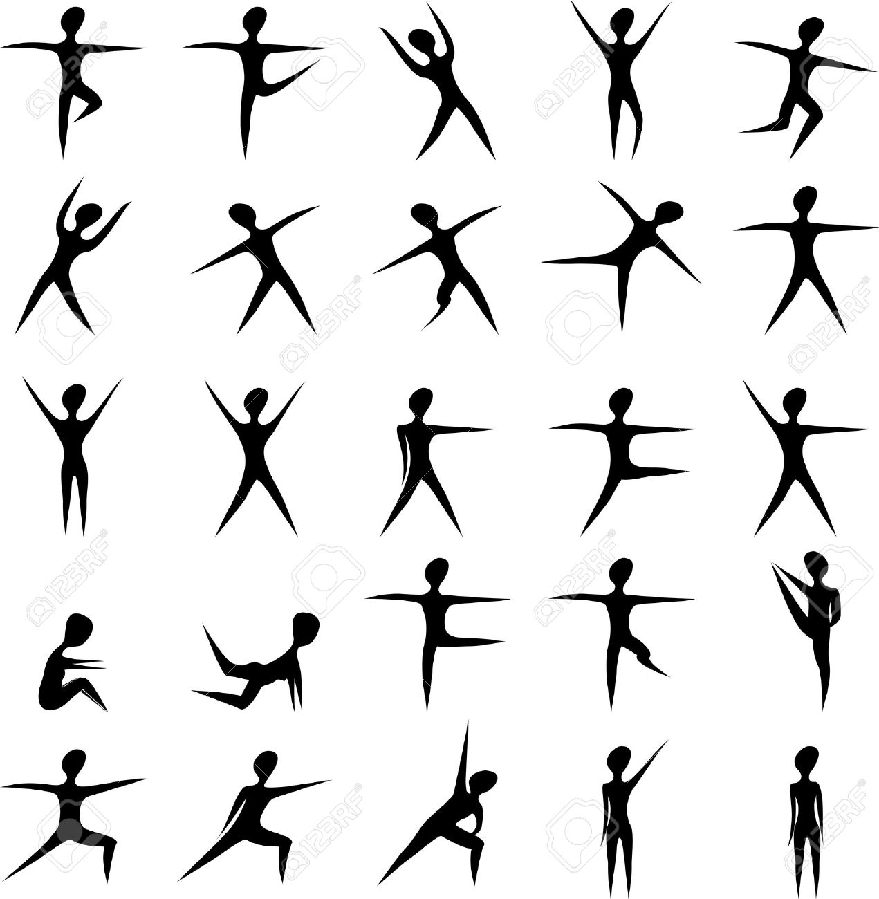 Bodyweight exercise clipart svg transparent stock 50 best bodyweight exercises. | Kito Fitness svg transparent stock