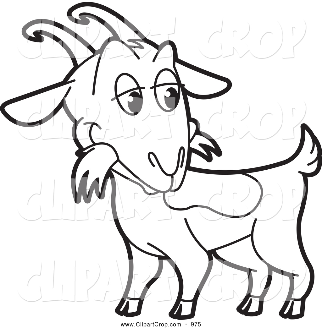 Sunglasses sheep black and white clipart png Boer Goat Clipart | Free download best Boer Goat Clipart on ... png