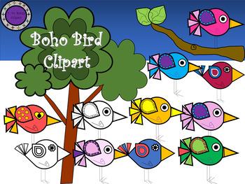 Boho bird clipart clip art black and white download Boho Bird Clipart clip art black and white download