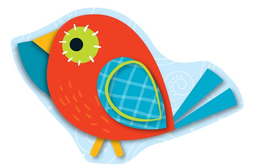 Boho birds clipart png library stock Carson Dellosa Boho Birds Welcome Bulletin Board Set   clipart ... png library stock