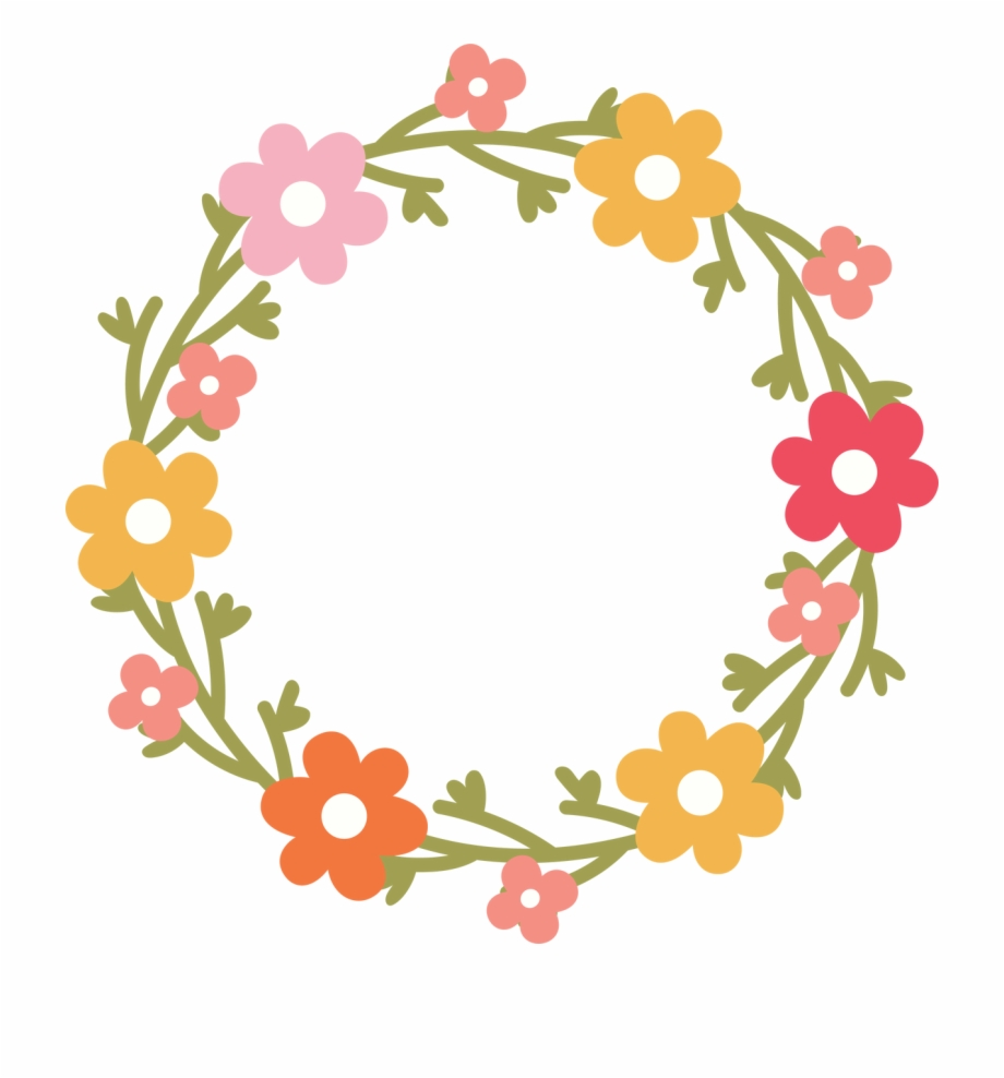 Boho chic dusty rose and rose gold wreath clipart banner black and white stock Floral Wreath Svg Cut File - Design Free PNG Images & Clipart ... banner black and white stock