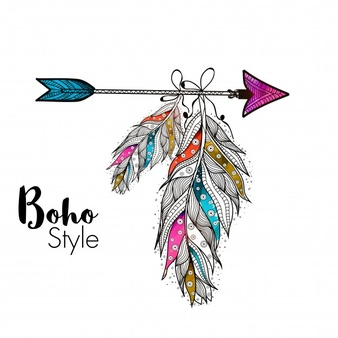 Boho clipart png clip art freeuse Boho Vectors, Photos and PSD files | Free Download clip art freeuse