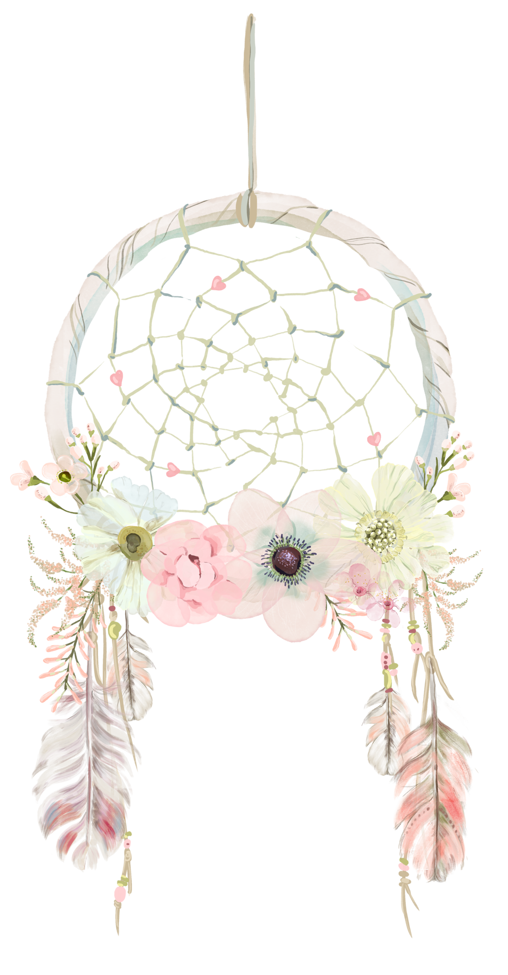 Boho cow head with flower crown clipart png transparent library dream catcher clipart - Saferbrowser Yahoo Image Search Results ... png transparent library