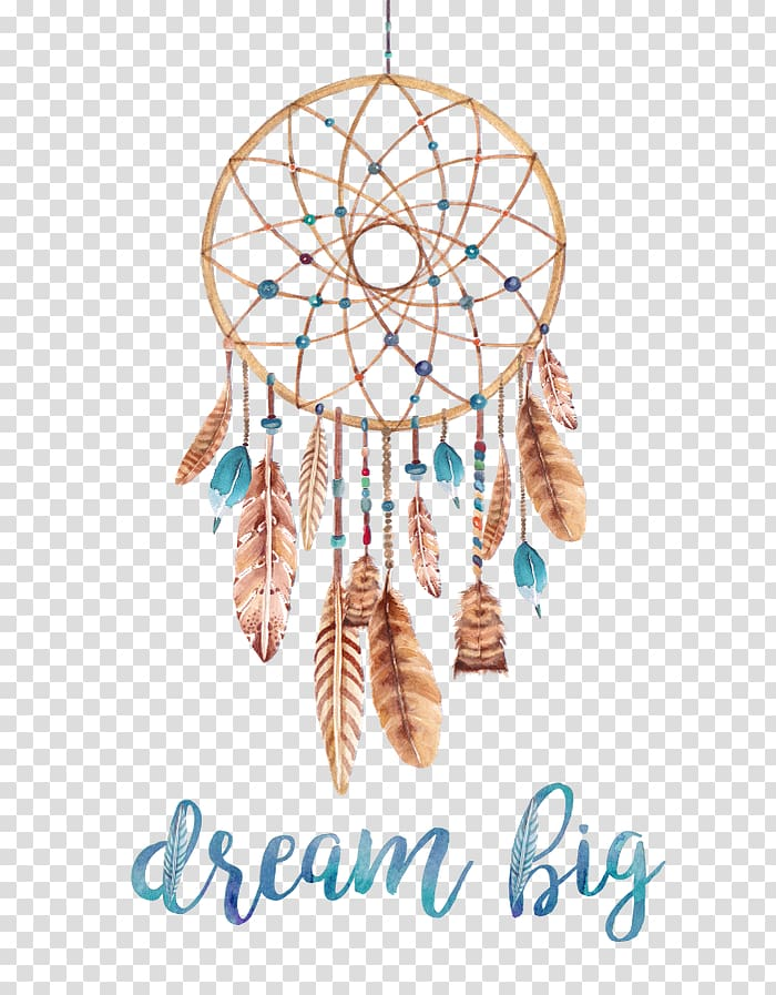 Boho dreamcatcher clipart png royalty free stock Brown dreamcatcher decor, Dreamcatcher Poster Watercolor painting ... png royalty free stock