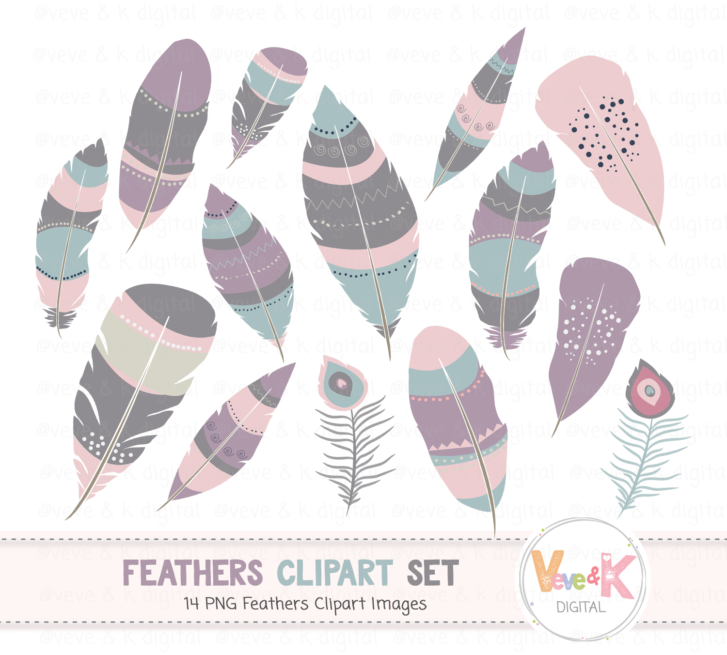 Boho feathers clipart graphic freeuse download Boho Feathers Clipart, Digital Feathers, Aztec Feathers, Boho Feathers,  Tribal Feathers Clipart, Commercial Use, Feathers Images, Boho graphic freeuse download