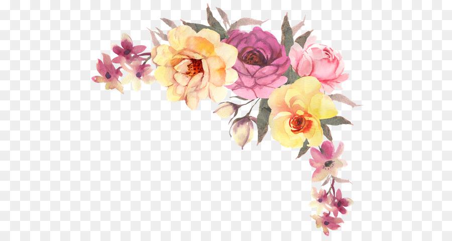Boho flower bouquet clipart clip art download Watercolor Flower Wreath png download - 550*475 - Free Transparent ... clip art download