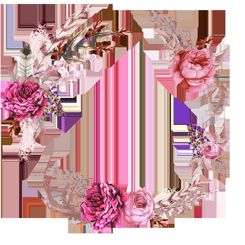 Spring flower wreath clipart banner royalty free download Frames floral em png para baixar | фоны | Pinterest | Floral ... banner royalty free download