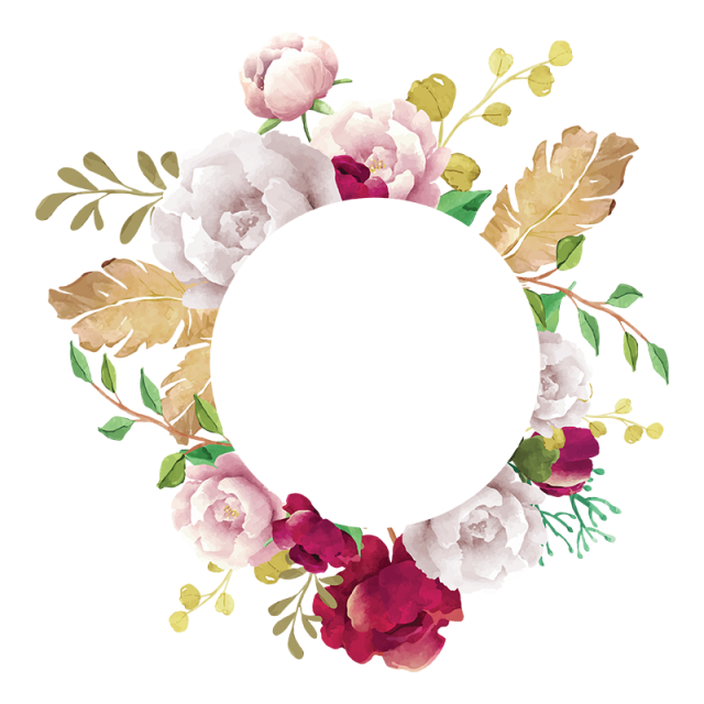 flower frame, flower, frame, white, pink, red, burgundy, green ... graphic freeuse library