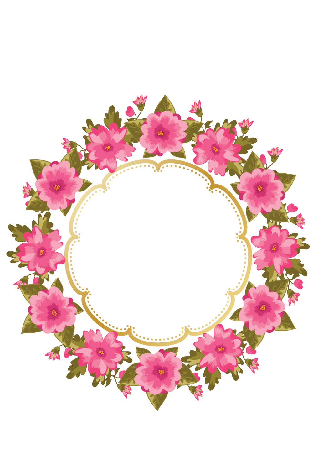 Http e top net. Flower wreath clipart