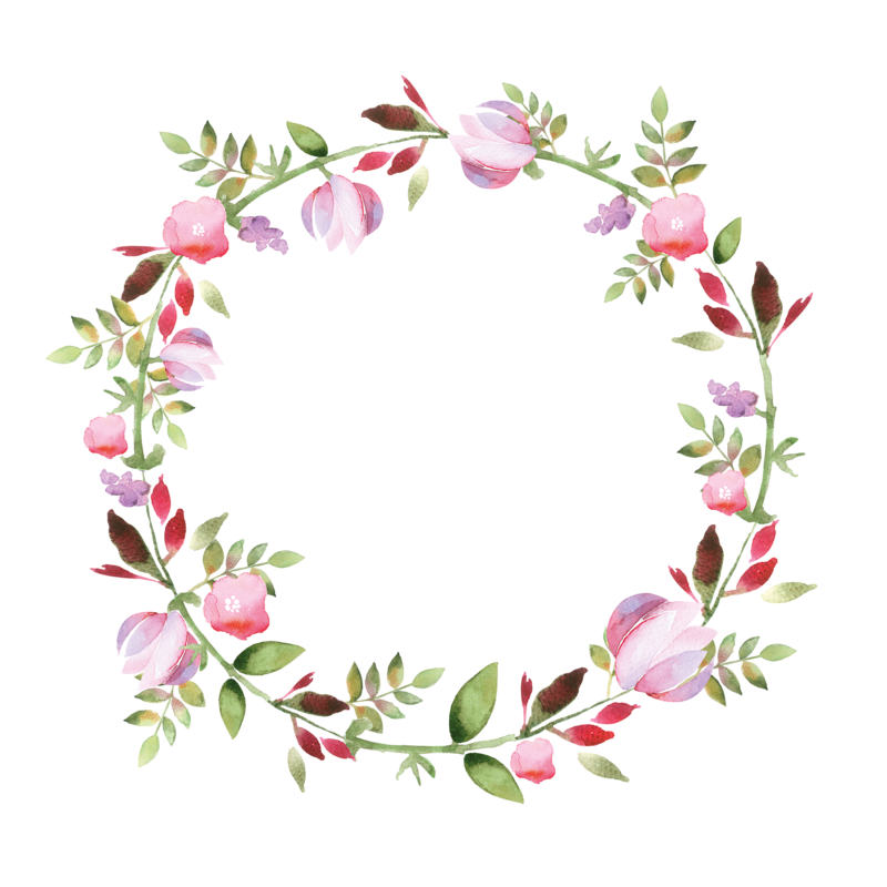 Flower wreath clipart png graphic freeuse stock 1_frame (5).png | Pinterest | Watercolor, Wreaths and Wallpaper graphic freeuse stock